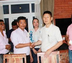 日本の企業がネパール人研修生を、技能実習生として受け入れ、それぞれの企業において実務を通じ、様々な技術などを習得する制度のことです。