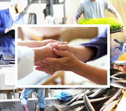 主に日本全国各地の介護業界への送り出しを支援しています。その他、職種については、農業・漁業・土木・製造業など様々な職種もございます。